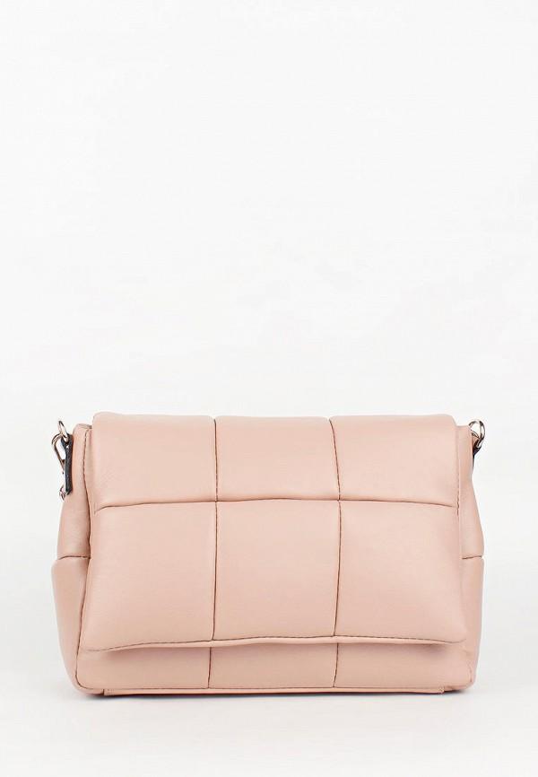 женская сумка bella bertucci, розовая