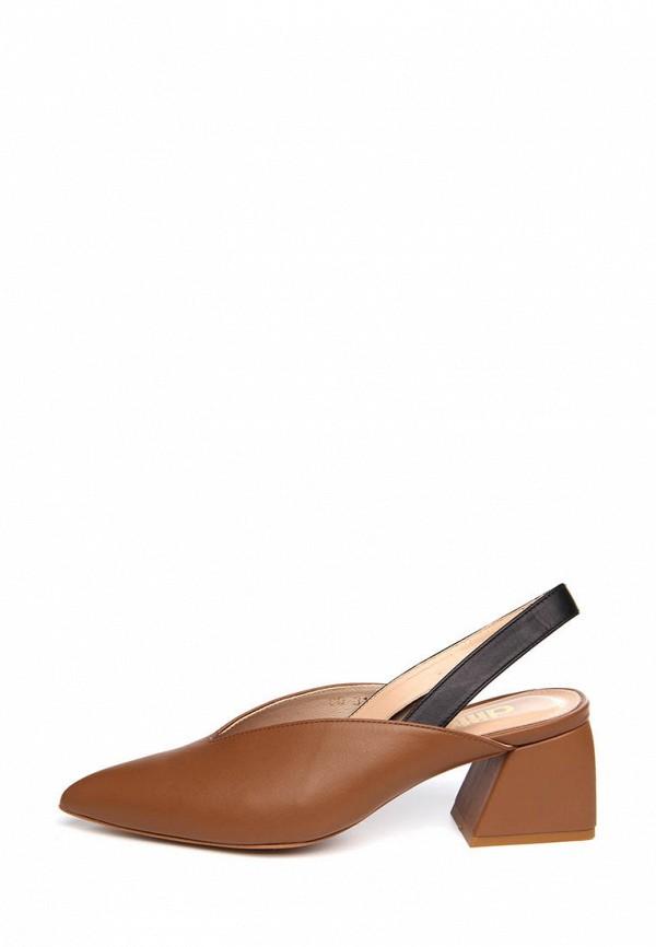 женские туфли ditto, коричневые