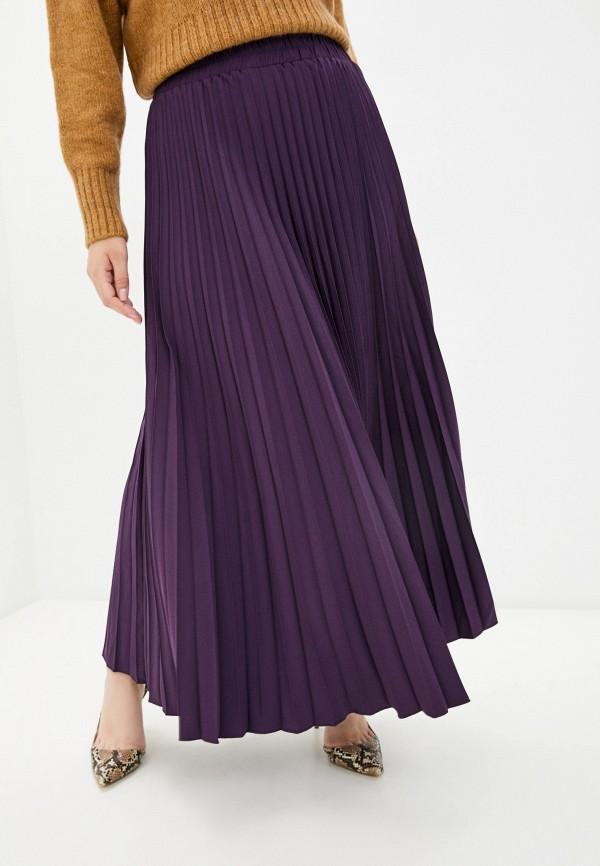 женская плиссированные юбка полное счастье, фиолетовая
