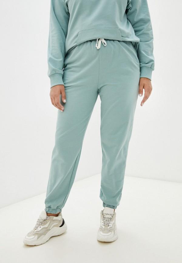 женские спортивные брюки delori, бирюзовые