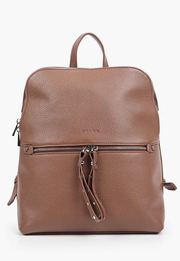 женский рюкзак afina, коричневый