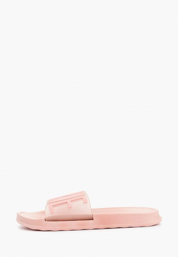женские сланцы kellis, розовые