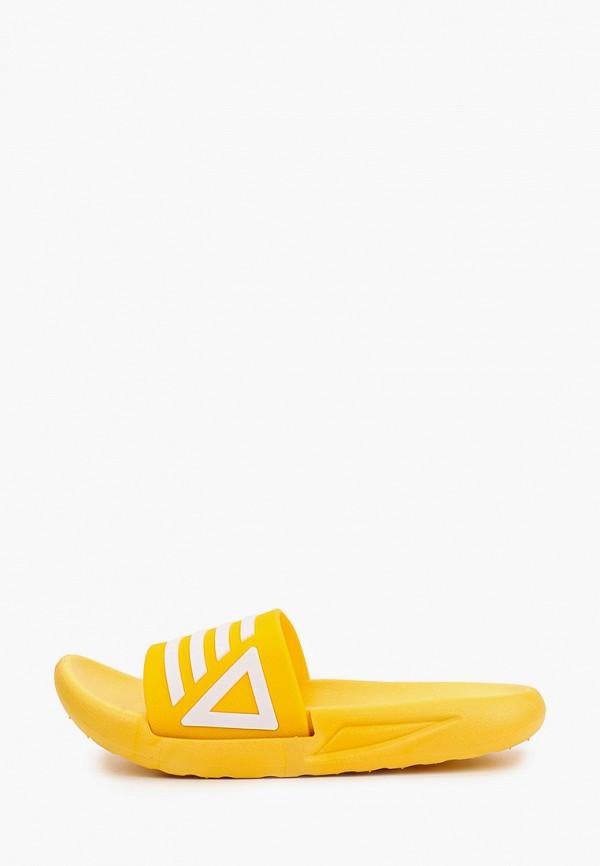 женские сланцы kellis, желтые