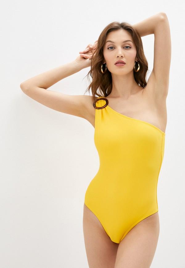 женский купальник baon, желтый