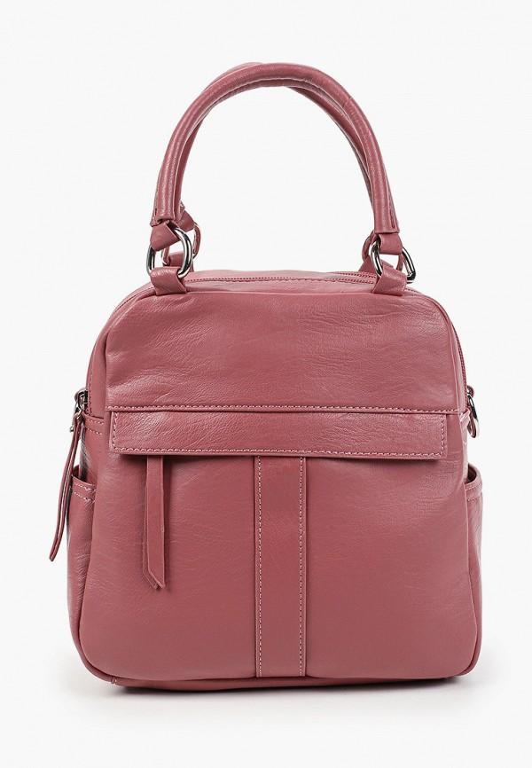 женская сумка с ручками zenden, розовая