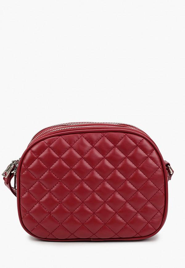 женская сумка через плечо instreet, бордовая