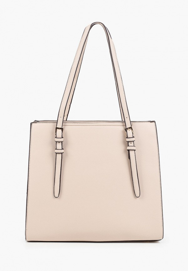 женская сумка через плечо zenden, бежевая