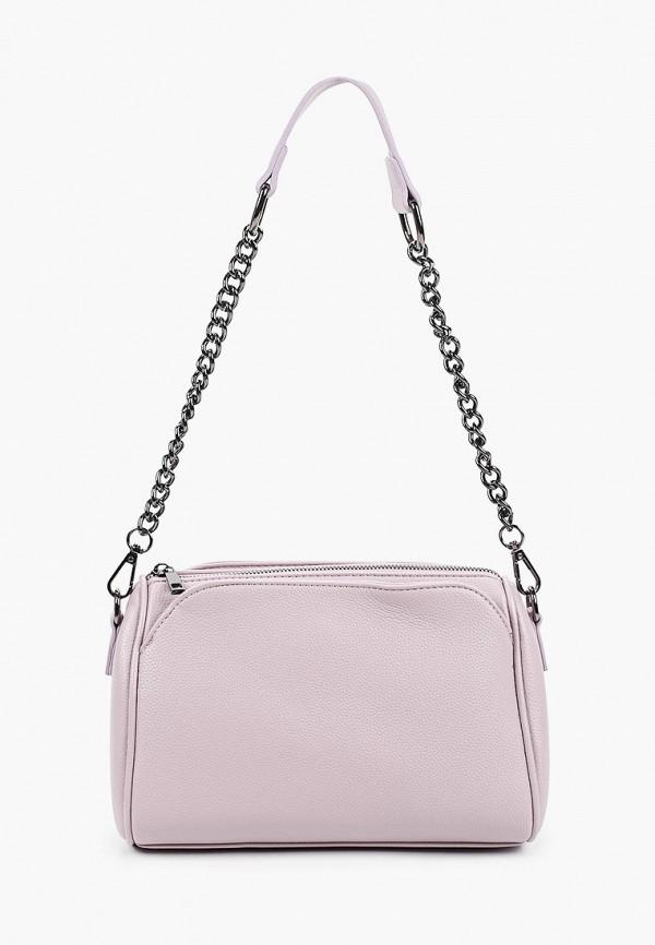 женская сумка через плечо instreet, фиолетовая