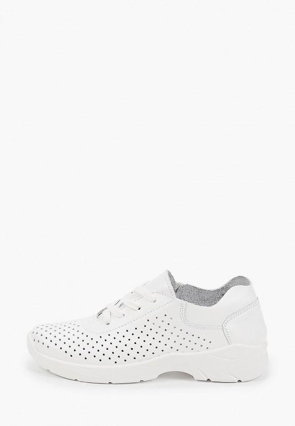 женские низкие кроссовки zenden, белые