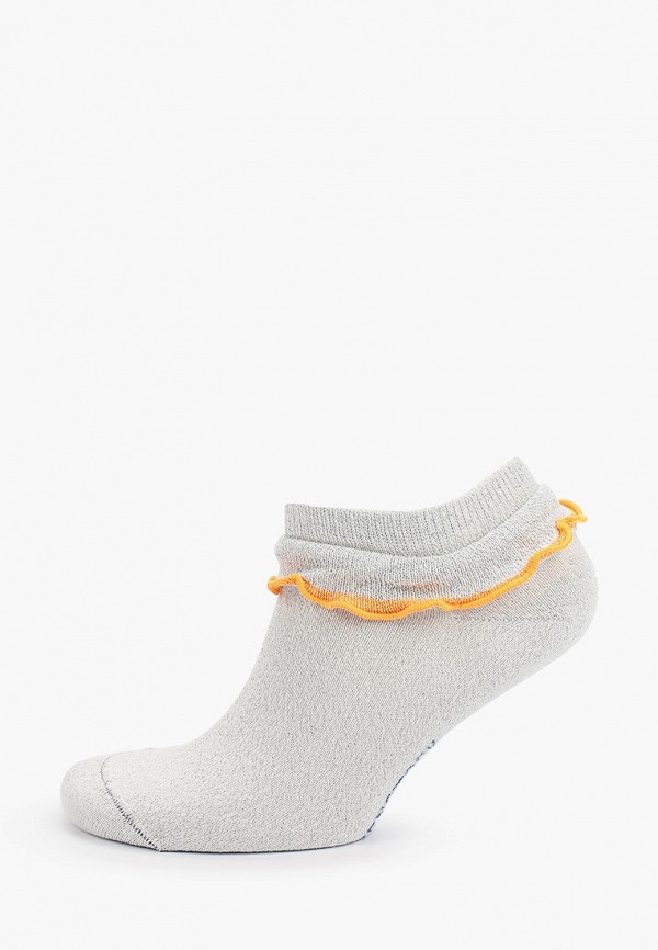 женские носки birkenstock, серебряные