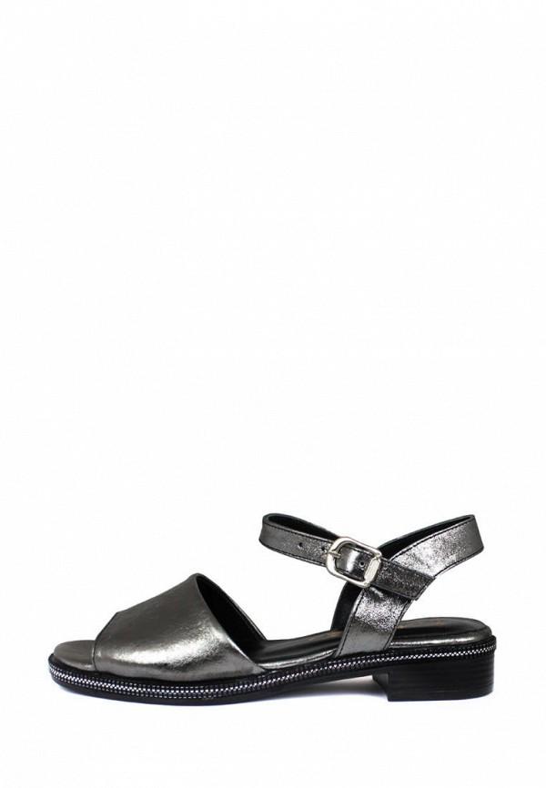 женские сандалии blizzarini, серебряные