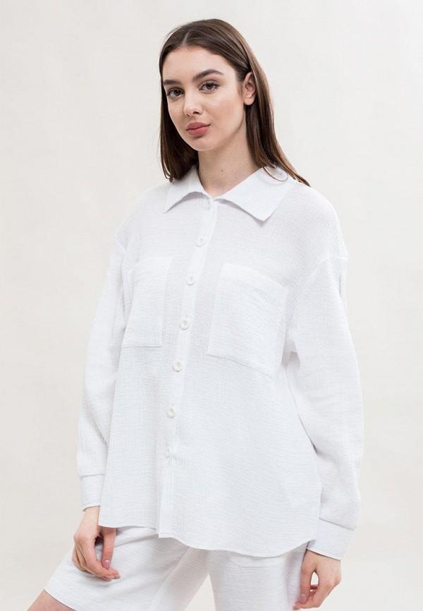 женская блузка maxa, белая