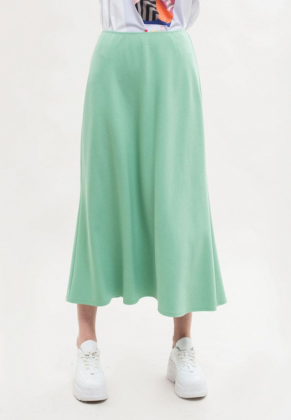 женская юбка maxa, бирюзовая