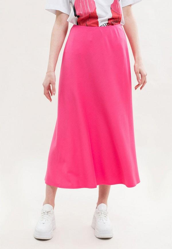 женская юбка maxa, розовая