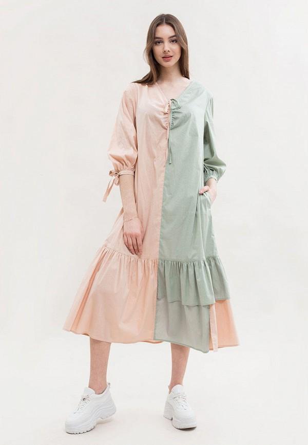 женское повседневные платье maxa, разноцветное