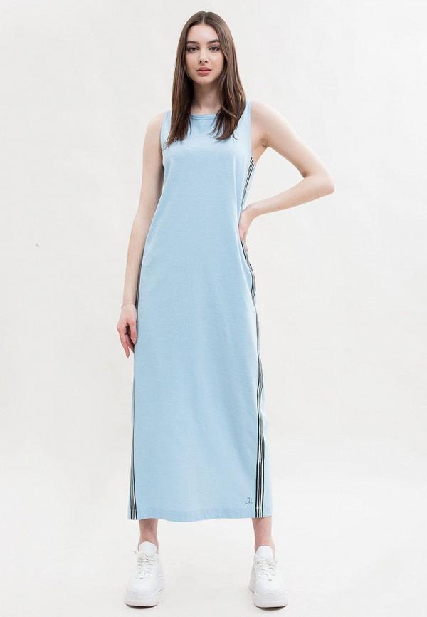 женское платье maxa, голубое