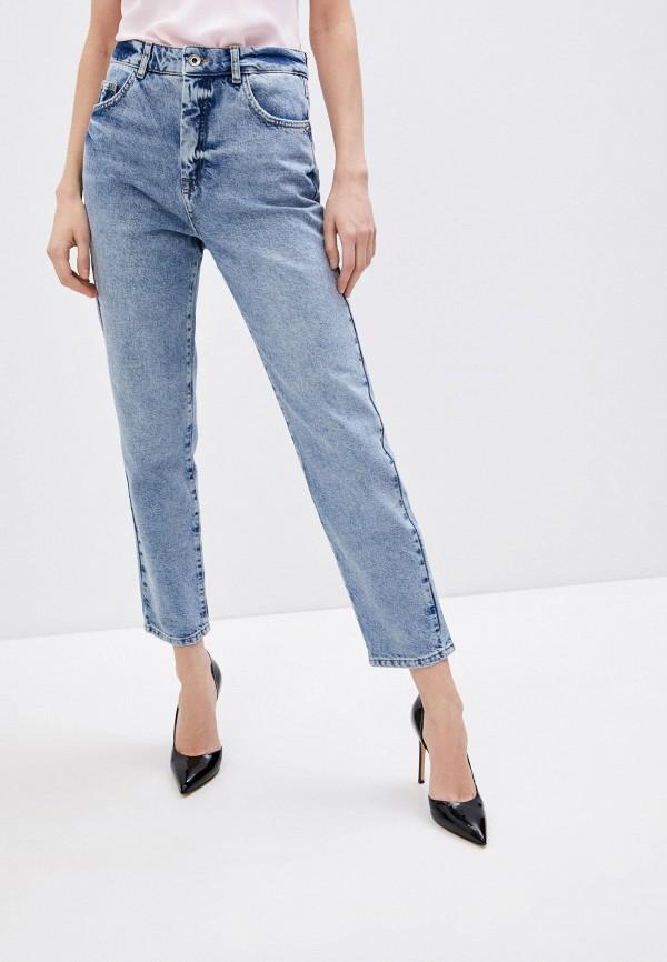 женские прямые джинсы patrizia pepe, голубые