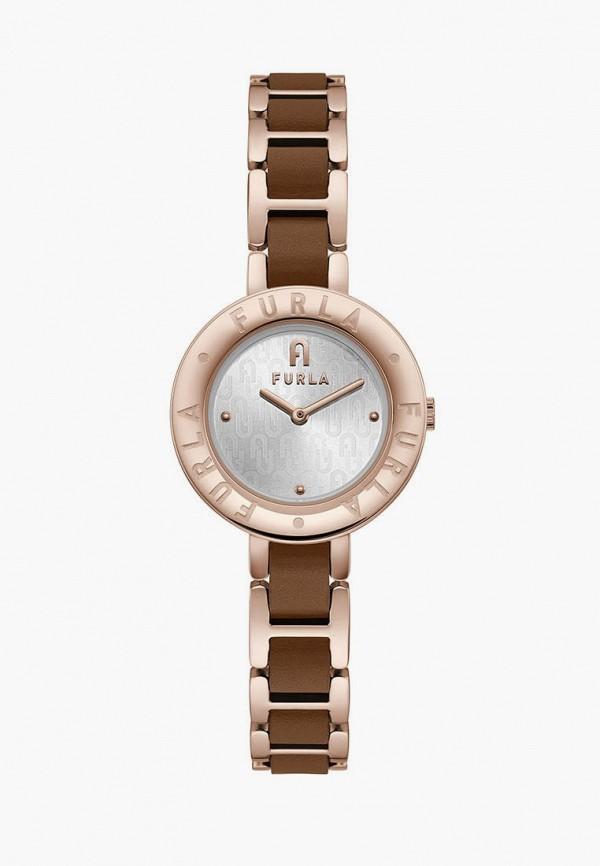 женские часы furla, коричневые