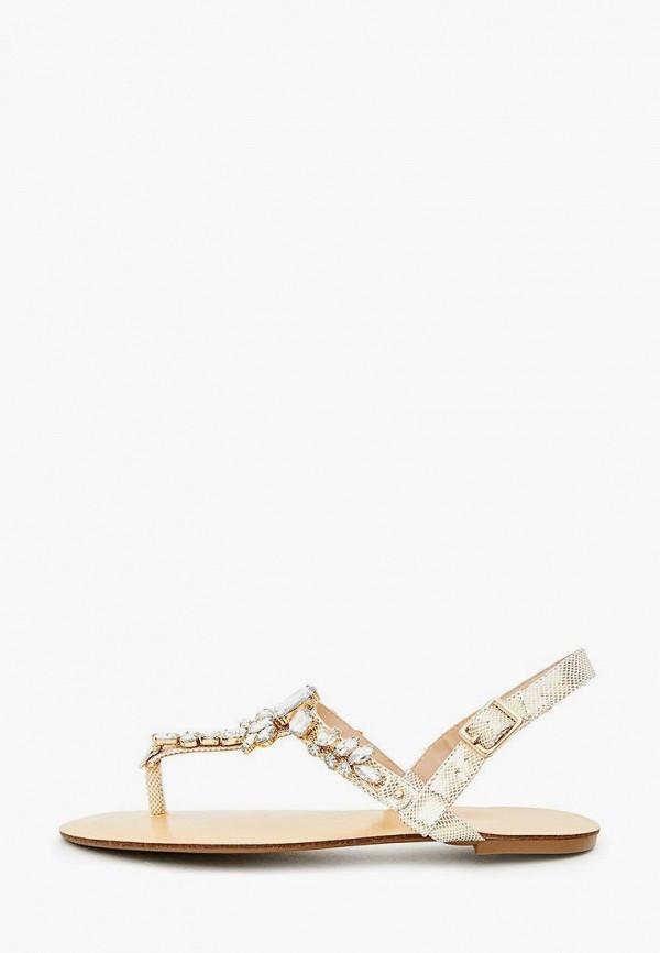женские сандалии darkwood, золотые