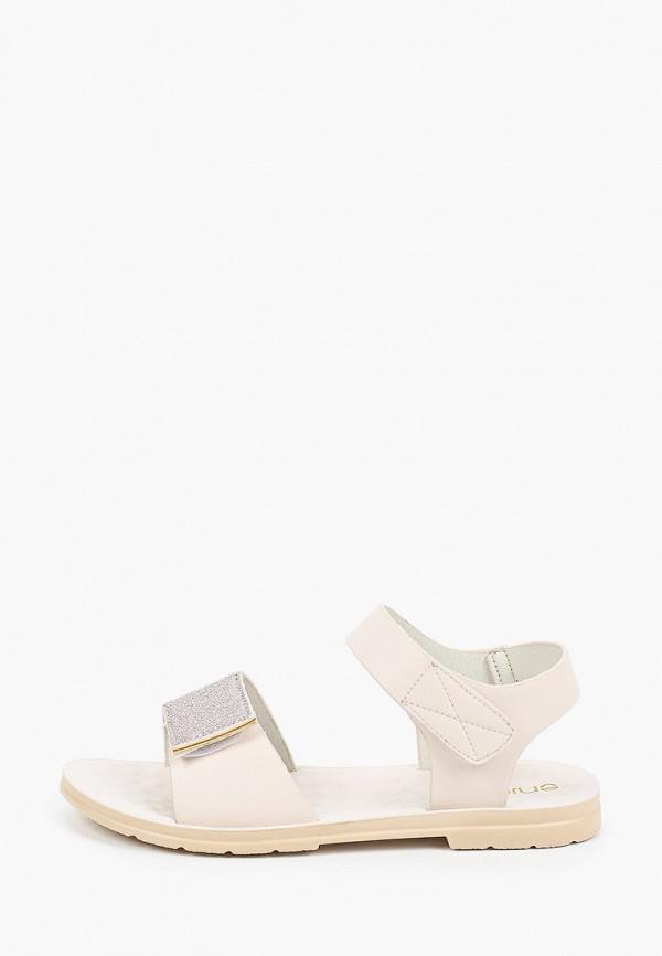 женские сандалии enjoin', серебряные