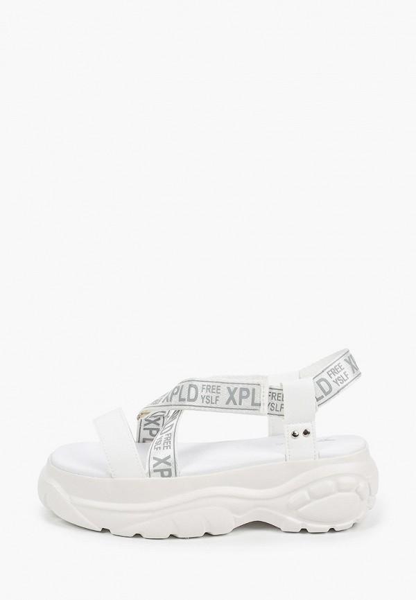 женские босоножки x-plode, белые