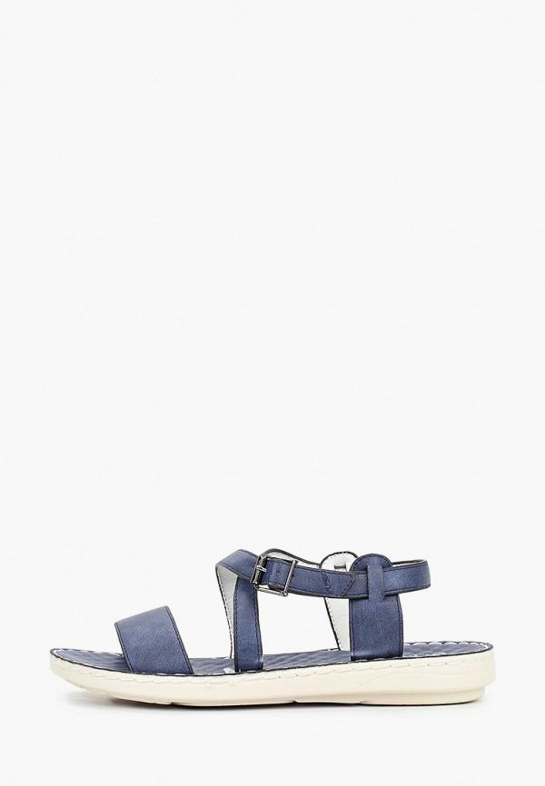 женские сандалии enjoin', синие