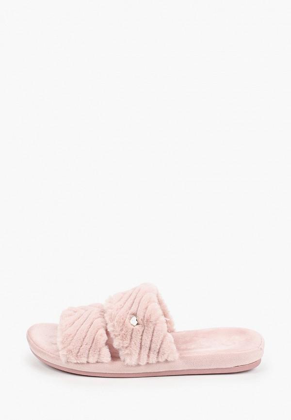 женские тапочки enjoin', розовые