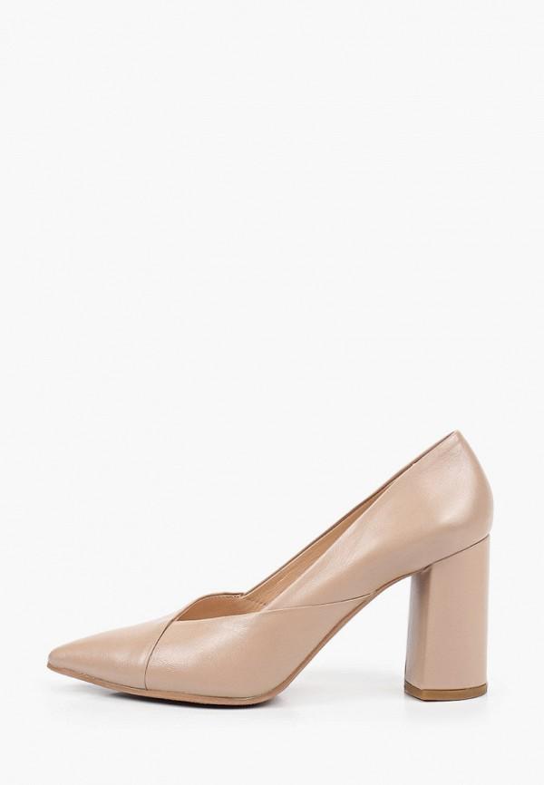 женские туфли с закрытым носом argo, бежевые
