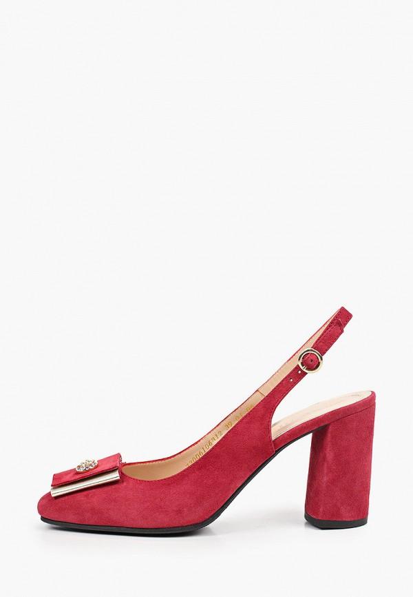 женские туфли argo, бордовые