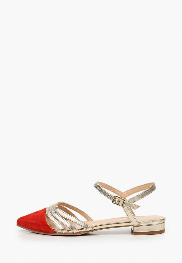 женские сандалии argo, красные