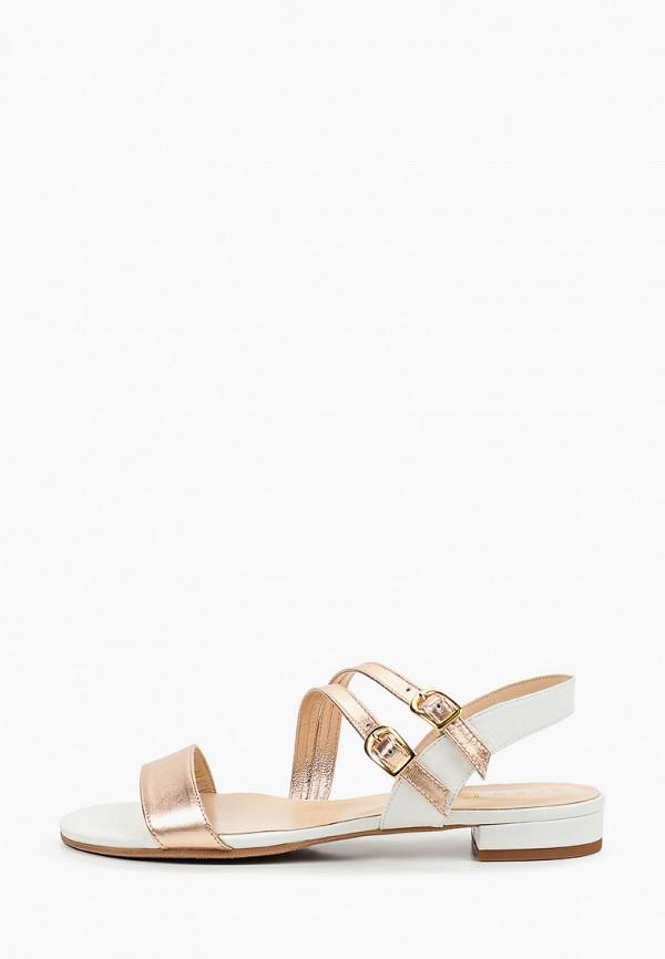 женские сандалии argo, белые