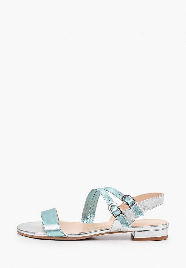 женские сандалии argo, серебряные