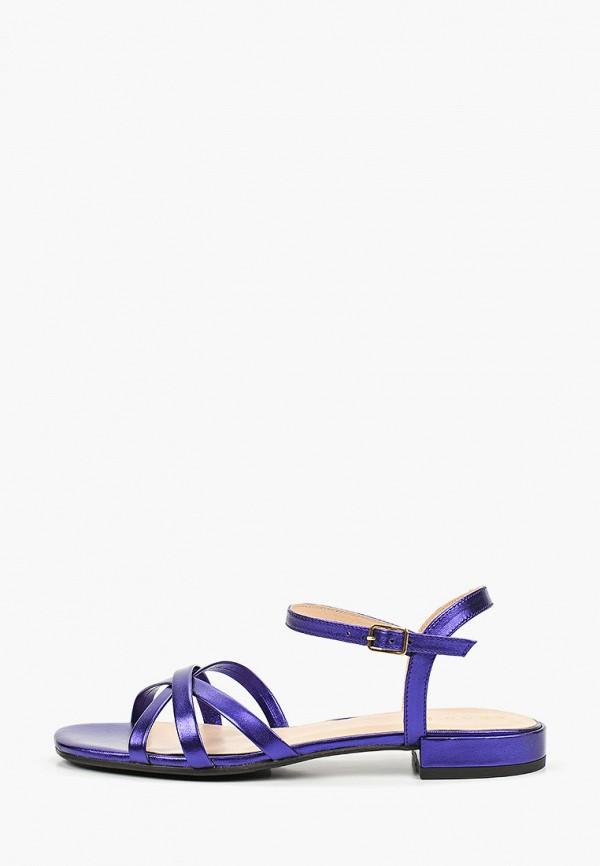 женские сандалии argo, фиолетовые