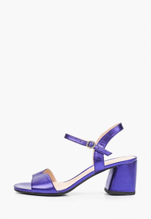 женские босоножки argo, фиолетовые