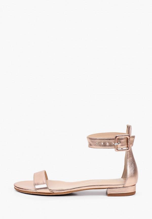 женские сандалии argo, золотые