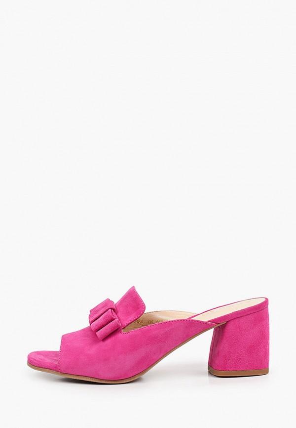 женское сабо argo, розовое