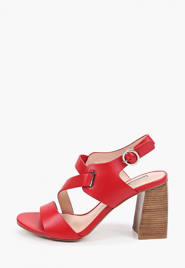женские босоножки basconi, красные