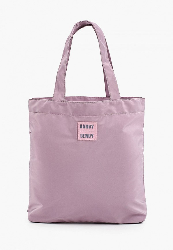 женская сумка с ручками handy bendy, фиолетовая
