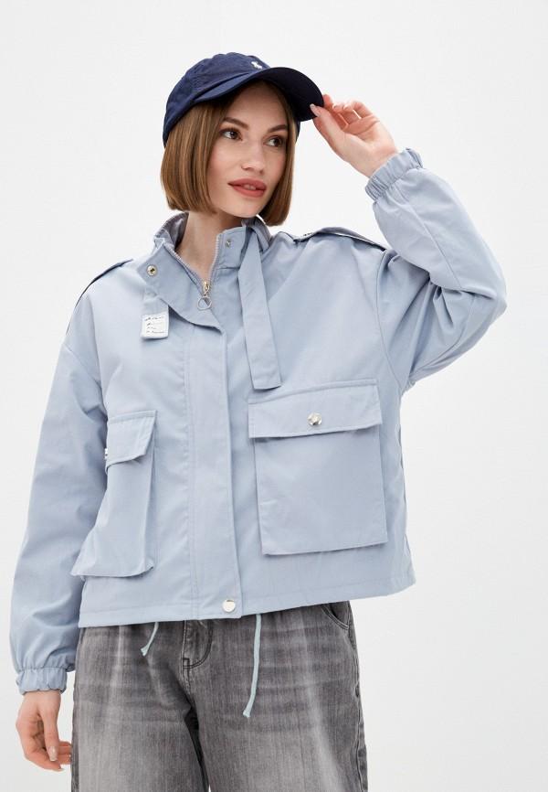 Куртка Grafinia голубого цвета