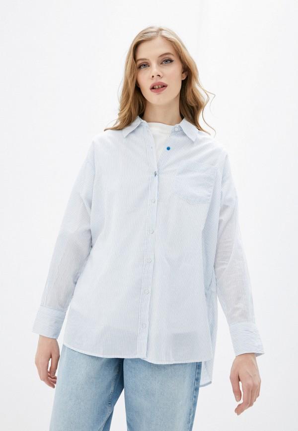 Рубашка Mavi голубого цвета