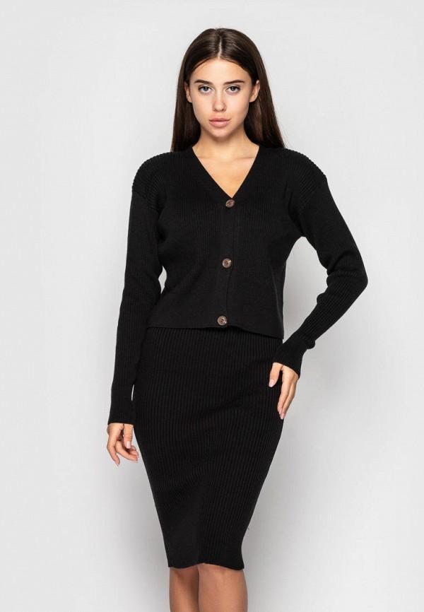 женский костюм l'maro, черный