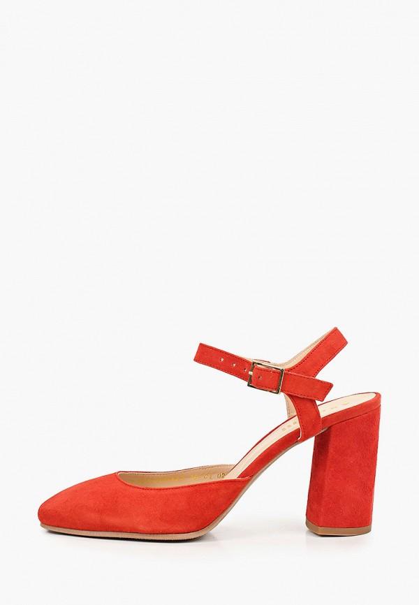 женские туфли argo, красные