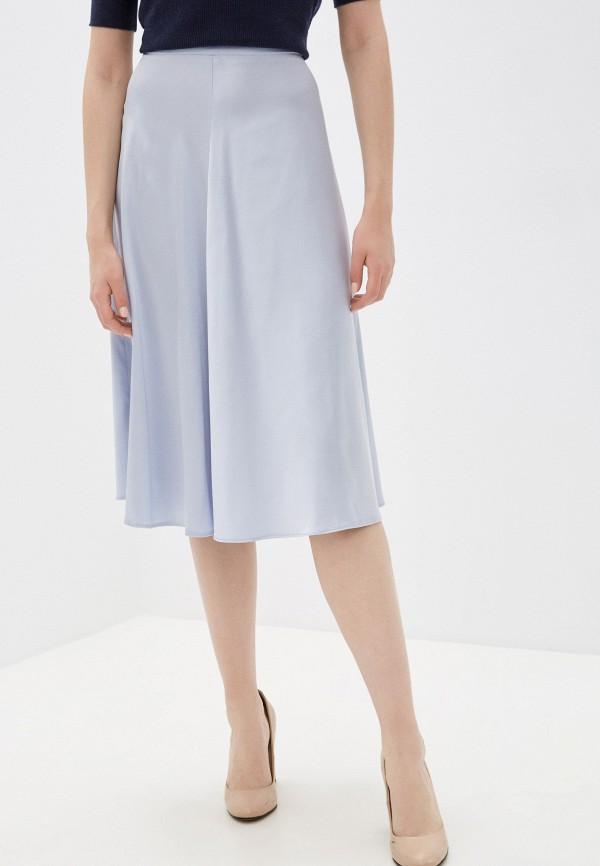женская юбка-трапеции fnc, голубая