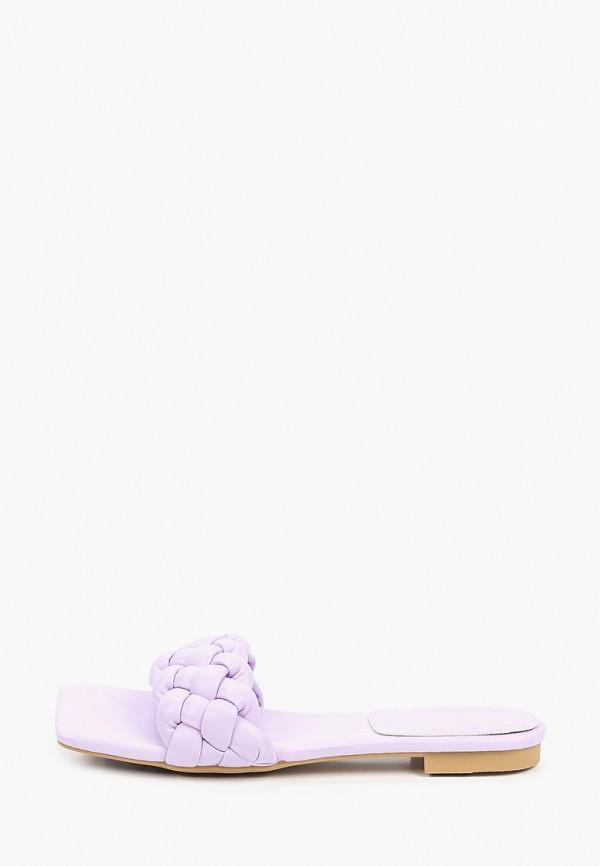 женское сабо араз, фиолетовое