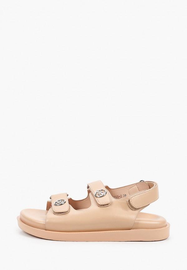 женские сандалии араз, бежевые