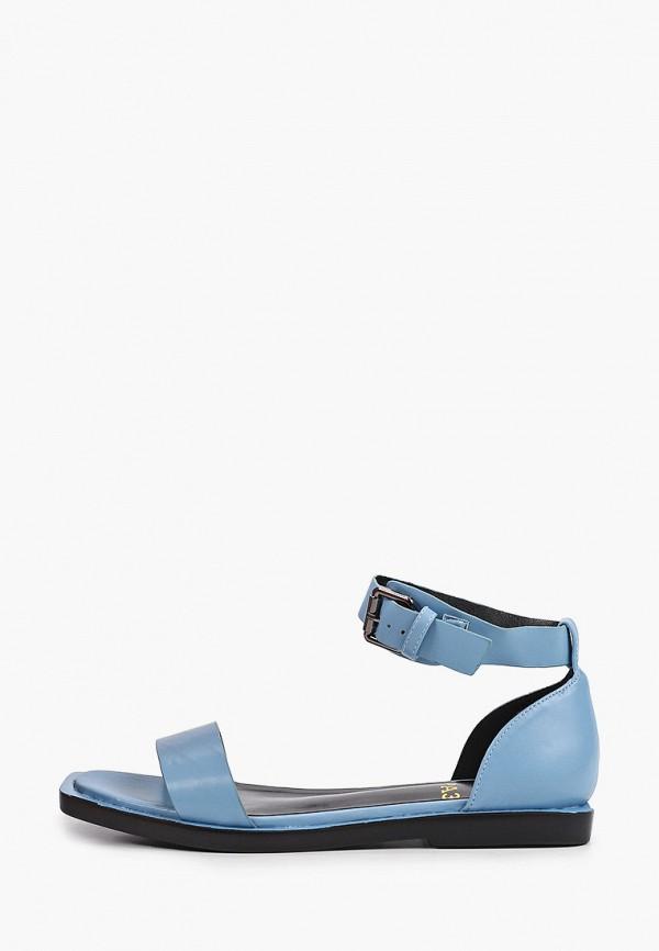 женские сандалии араз, голубые