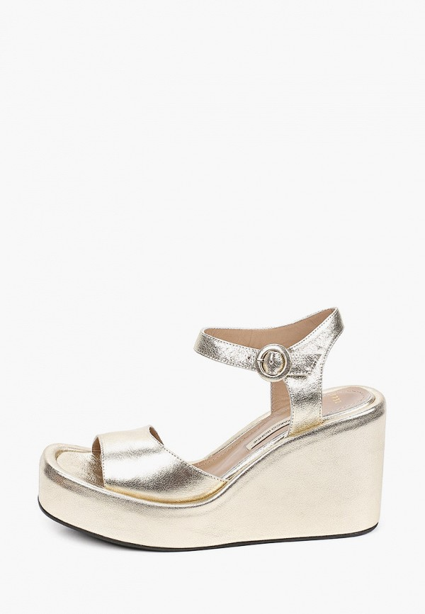 женские босоножки marco bonne', золотые