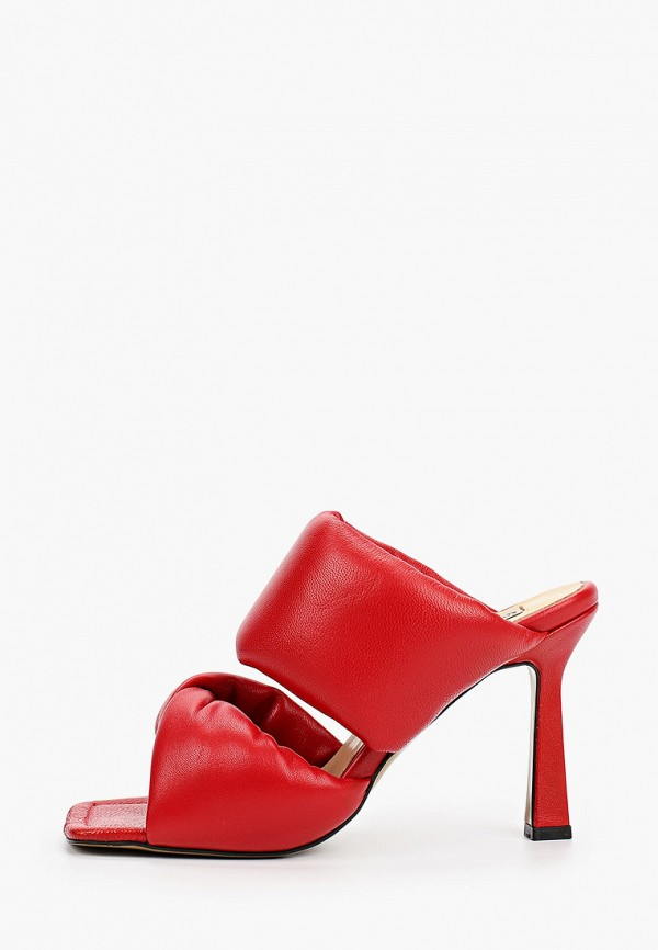 женское сабо marco bonne', красное
