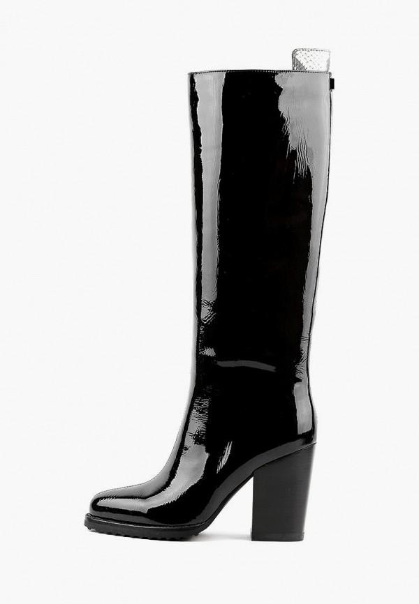 женские сапоги basconi, черные