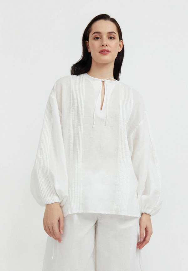 Блуза Finn Flare белого цвета